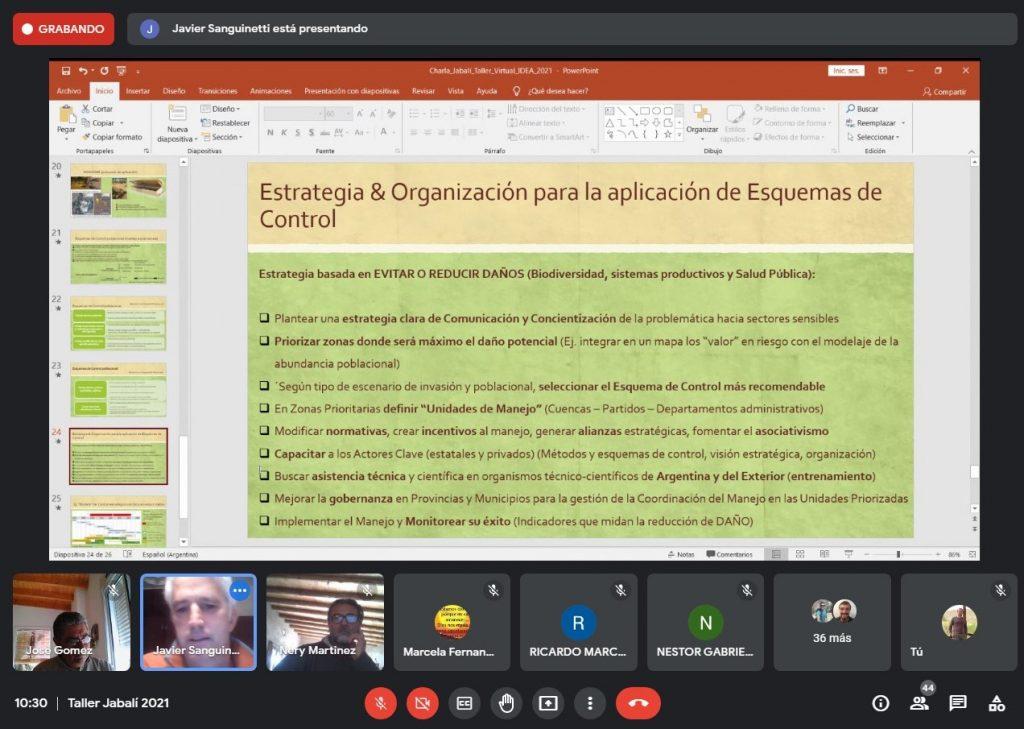 Evaluación de propuestas de control poblacional del Jabalí (Sus scrofa) en la provincia de Córdoba